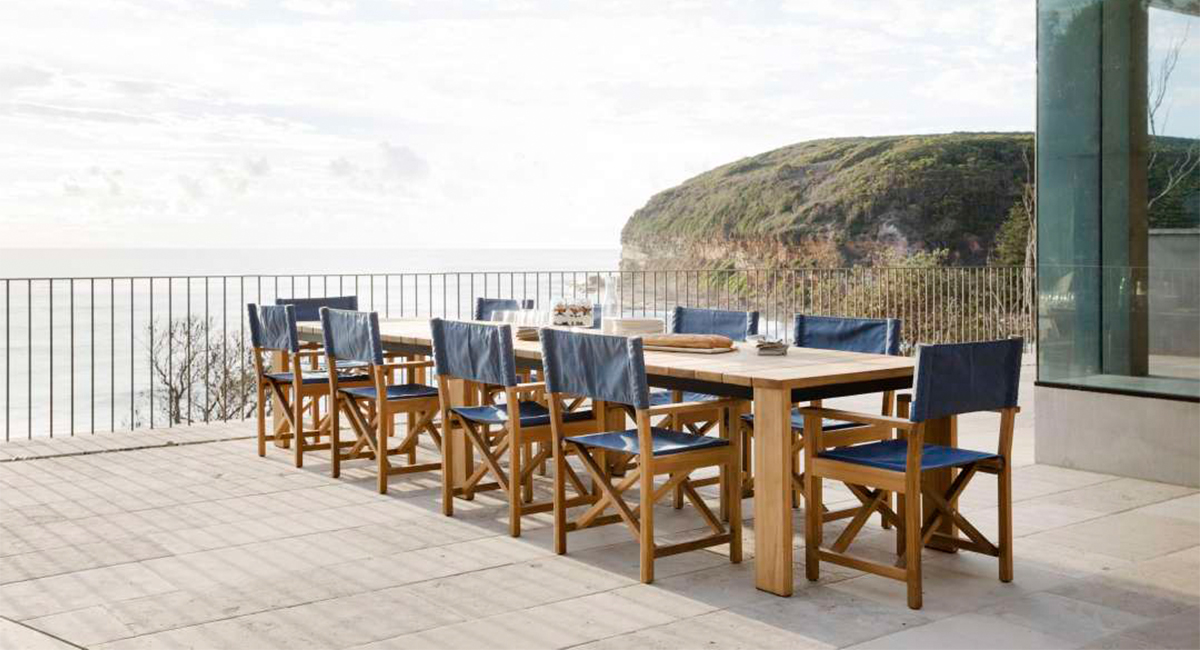 Contemporary Outdoor Dining Chairs Designer Furniture By Eco Outdoor