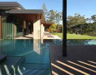 Pool design and contemporary architecture