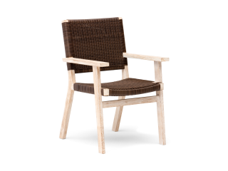 Barwon® Dining Armchair Brown