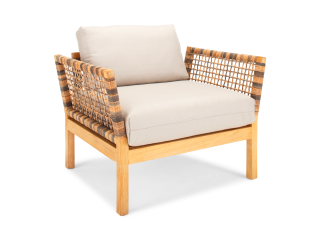 Hutt Lounge Chair | Basics Fabric
