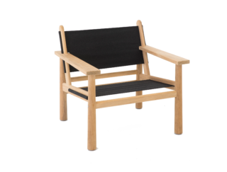 Hunter Easy Chair in Canvas Farrier