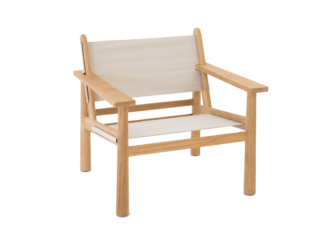 Hunter Easy Chair in Canvas Talas