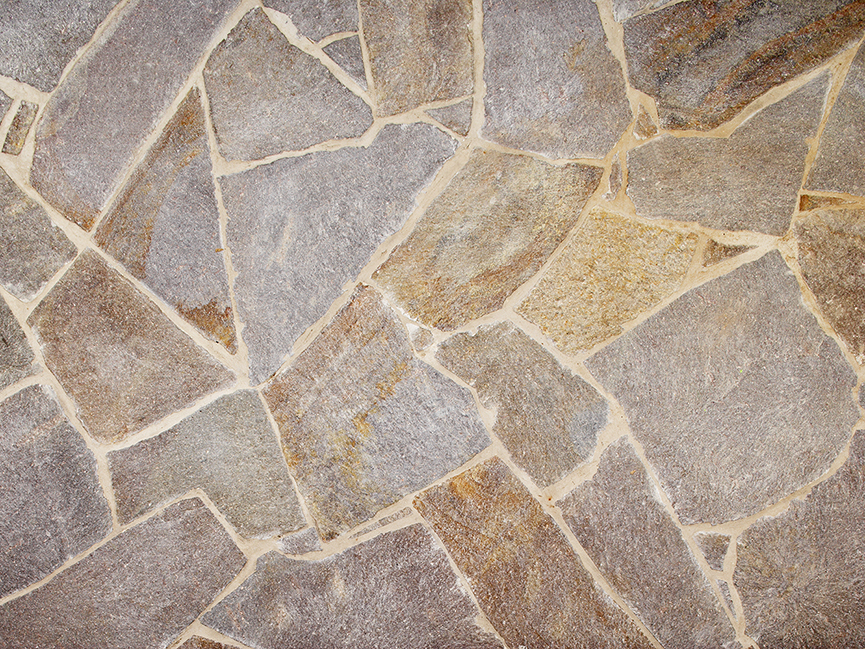 Porphyry Crazy Paving & Natural Stone Flooring by Eco Outdoor
