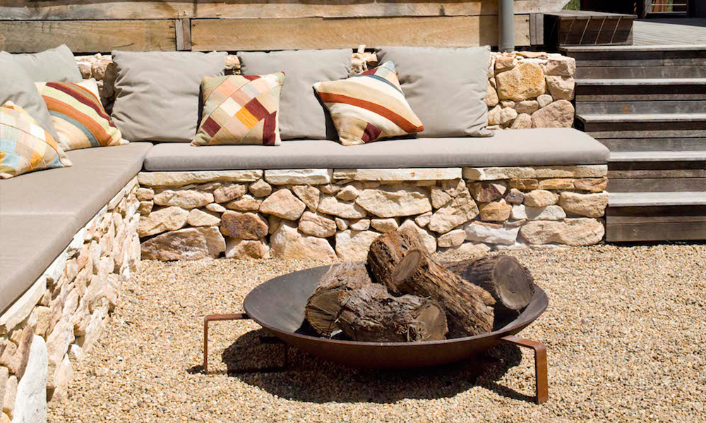 building an outdoor fire place