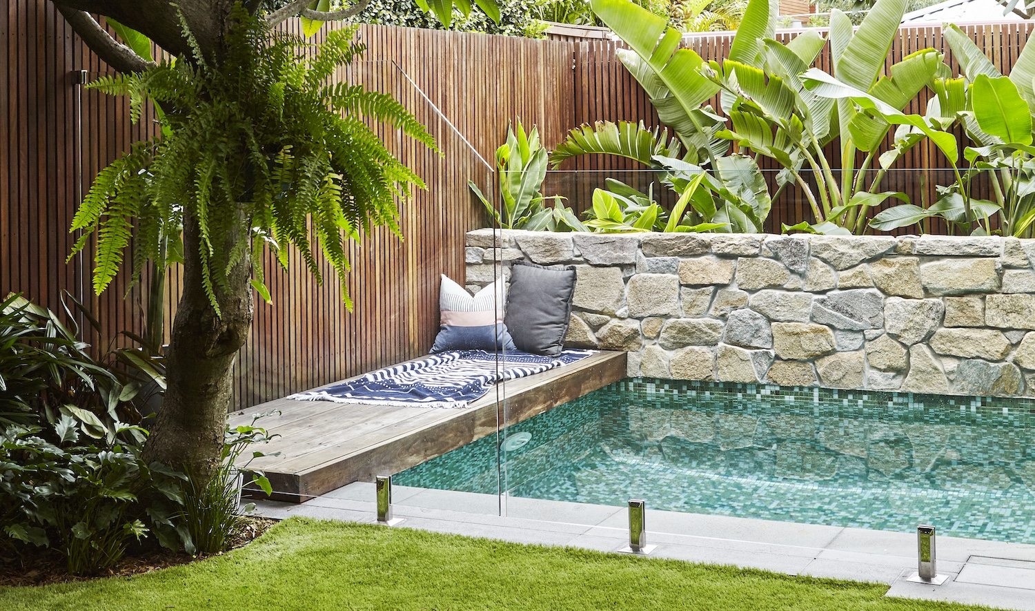 Foliage can add life to your poolside space | Harrisons Landscaping