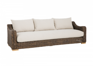 Hayfield 3.5 Seat Lounge | Canvas Fabric